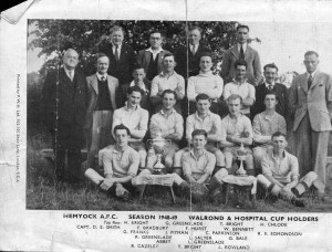 Hemyock Football Team 1949