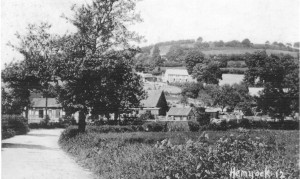 Crossing the Culm River at Station Road