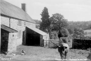 Troakes Farm, Clayhidon c. 1950