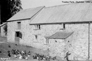 Picture of Troakes Farm, Clayhidon c. 1950