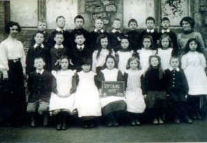 Picture of Class 2, Uffculme School, 1912