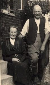 Mr & Mrs French, Sceifa, Clayhidon, c. 1930