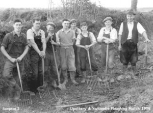 Picture of the Upottery & Yarcombe Ploughing Match 1958