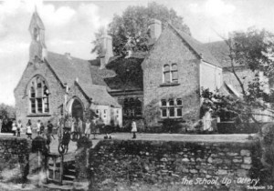Early Picture of Upottery School