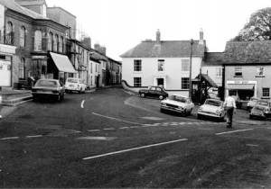 Picture of Uffculme Square c. 1970