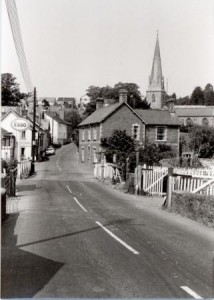 Picture of Bridge Street and Denner Way, Uffculme, Devon.