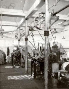 Picture of machinery at Coldharbour Mill