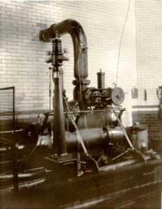 Picture of a steam engine used in manufacturing of cloth at Coldharbour Mill, Devon