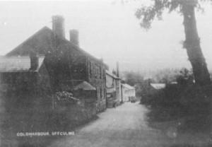 Picture of Coldharbour, Uffculme, Devon.  Date unknown.
