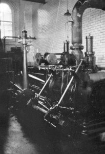 Picture of steam engine at Coldharbour Mill, Uffculme, Devon