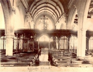 Picture of the inside of St Mary's Uffculme, Devon