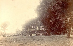 Picture of an Uffculme Cricket Club match, Devon.