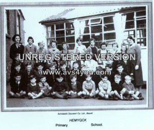 Hemyock school photo 1958-1-1