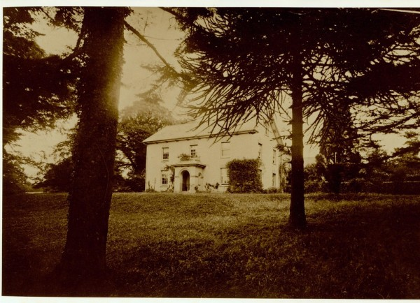 Leigh Court, Ashill, prior to 1920.-1a