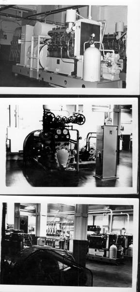 Unigate, Hemyock; standby generator, refrigerator plant & engine room.-1