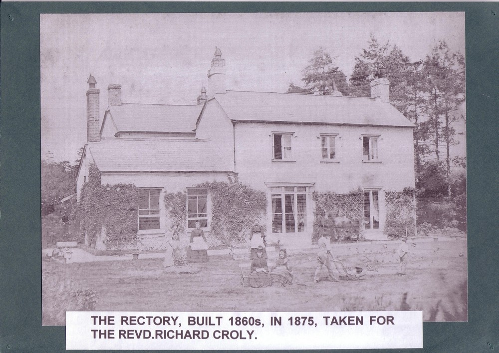 011 The Rectory built 1860's, taken for the Revd. Richard Cr