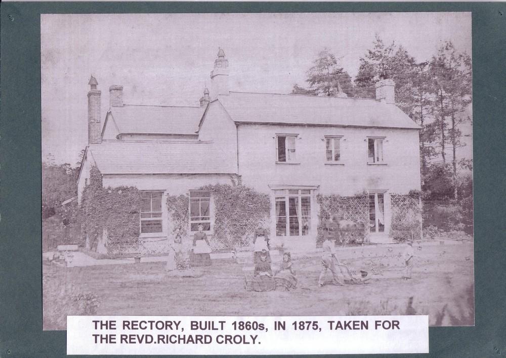 011 The Rectory built 1860's, taken for the Revd. Richard Cr