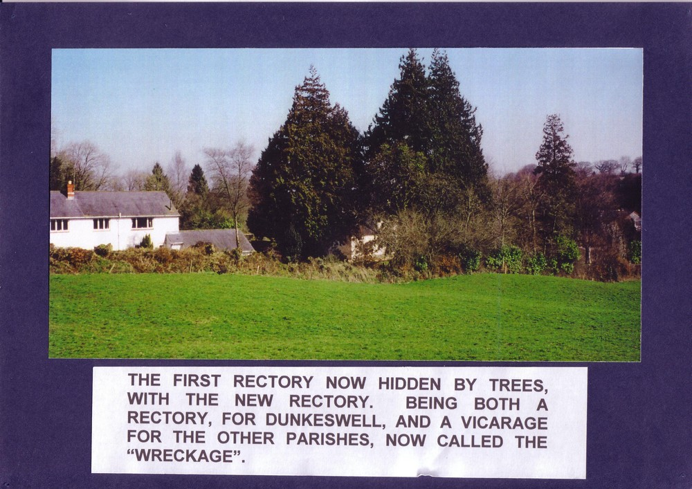 014 The first Rectory now hidden by trees, with the new Rect