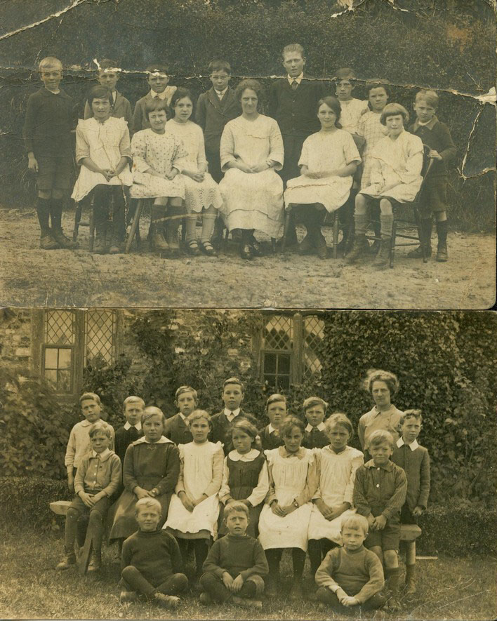 Dunkeswell Abbey primary school, undated.-1