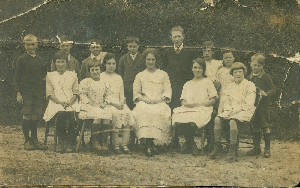 Dunkeswell Abbey primary school, undated.-1a