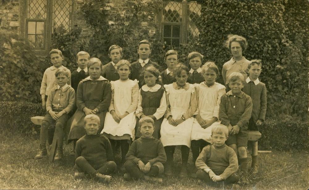 Dunkeswell Abbey primary school, undated.-1b
