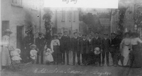 Coronation Day, 1911, @ Coldharbour, Uffculme.-1