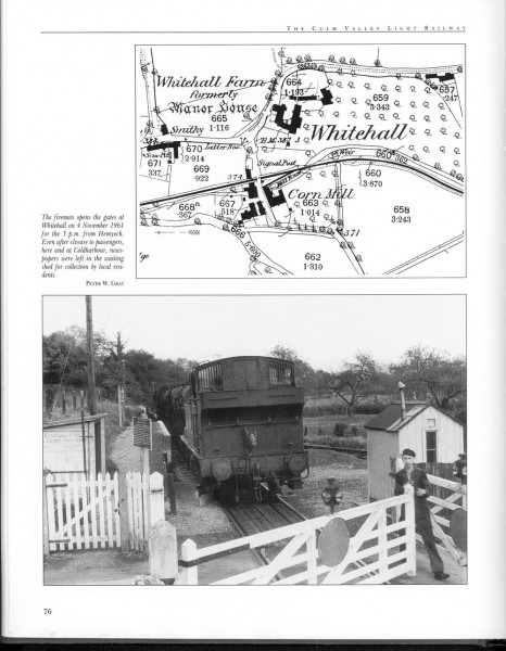 Culm Valley Ligjht Railway,. Whitehall Halt-1