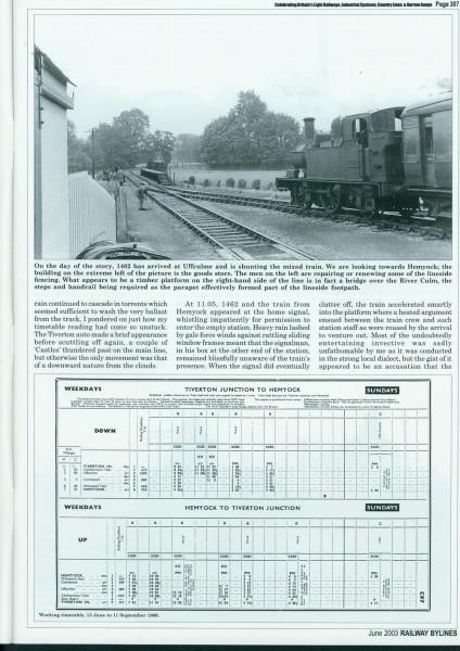 Culm Valley. Railway Bylines (2)-1