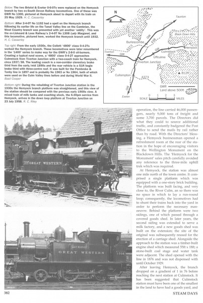 Culm Valley. Steam Days, (3)-1