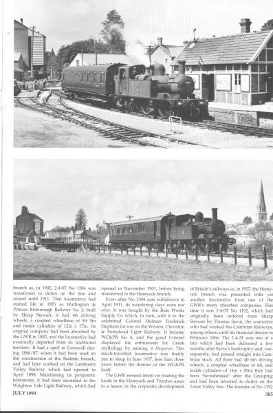 Culm Valley. Steam Days. (4)-1