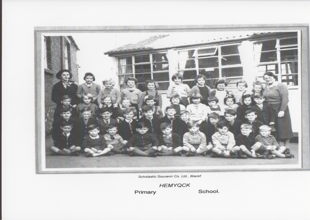Hemyock school photo 1958