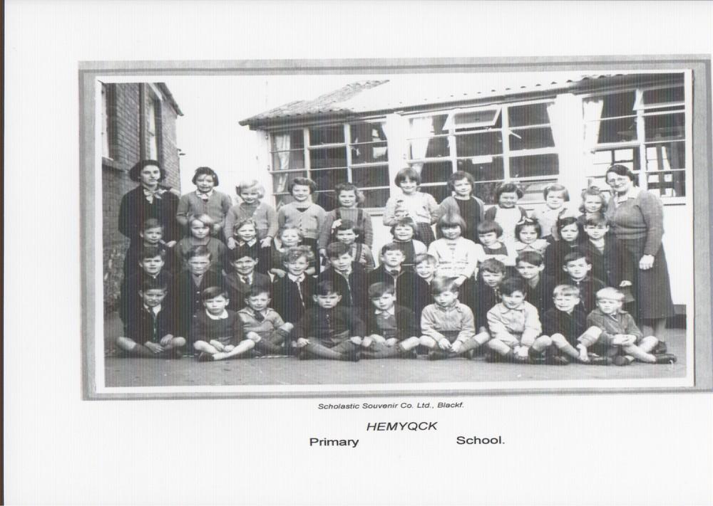 Hemyock school photo 1958