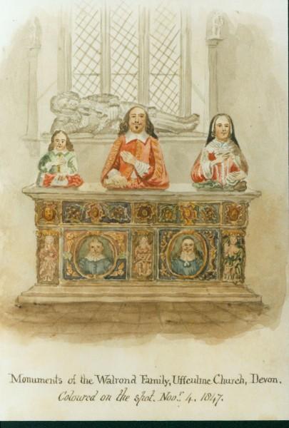 Walrond family memorial in church-1-1